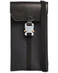 1017 ALYX 9SM Mini Leather Buckle Bag - Black