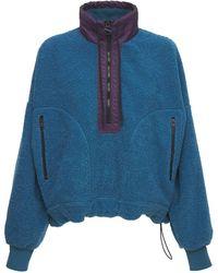 DIESEL Teddy スウェットシャツ - ブルー
