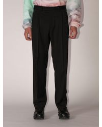 Off-White c/o Virgil Abloh Lvr Exclusive Classic Virgin Wool Pants - Black