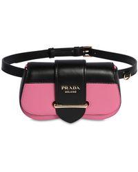 e70591bf6f60d Prada Black Small Sidonie Belt Bag in Black - Lyst