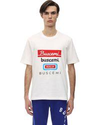 Buscemi コットンジャージーtシャツ - ホワイト