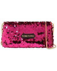 Tom Ford Сумка Label Small С Пайетками - Многоцветный