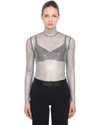 Ermanno Scervino - Crystals Embellished Top - Lyst