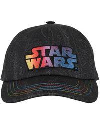 """Etro Cappello Baseball """"Stars Wars"""" In Cotone - Nero"""