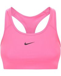 Nike Спортивный Бюстгальтер Со Средней Поддержкой Груди - Розовый