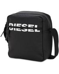 DIESEL テッククロスボディバッグ - ブラック