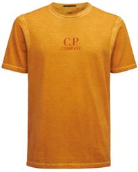 C.P. Company Faded I.c.e. Tシャツ - オレンジ