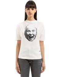 Vivienne Westwood - Vivienne Printed Cotton T-shirt - Lyst
