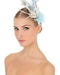 Nanà Firenze - Frozen Feather Headdress - Lyst
