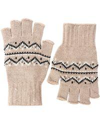 Maison Margiela Перчатки Без Пальцев Из Трикотажного Жаккарда - Многоцветный
