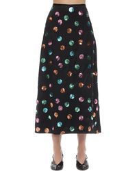 RIXO London - Kelly スパンコールサテンスカート - Lyst