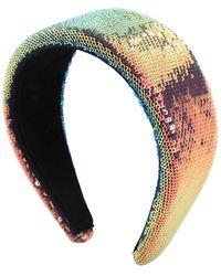 Ca&Lou Anastasia Boreal Sequined Headband - Multicolour