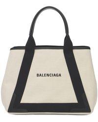 Balenciaga - New Navy Cabas トートバッグ - Lyst