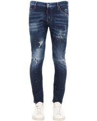 DSquared² Jeans Sexy Twist In Denim 16Cm - Blu