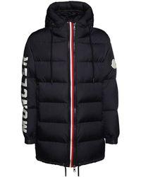 Moncler - Нейлоновая Куртка На Пуху - Lyst