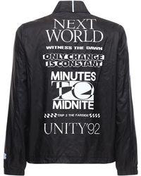 McQ Genesis Ii ナイロンシャツジャケット - ブラック