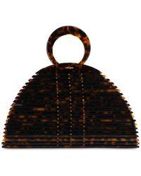 Cult Gaia Neema Top Handle Bag - Black