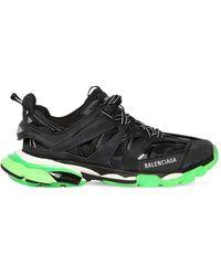 """Balenciaga Sneakers """"Track"""" In Ecopelle E Rete - Nero"""
