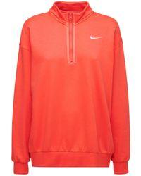 Nike Sweatshirt Aus Baumwollmischung - Rot