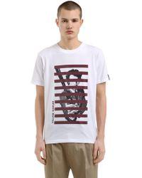 Antonio Marras - Printed Cotton Jersey T-shirt - Lyst
