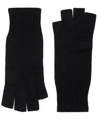 Khaite Kai Soft Cashmere Gloves - Black