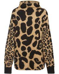 Stella McCartney Pullover mit Print - Mehrfarbig