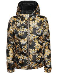 Versace Jeans Couture - ナイロンダウンジャケット - Lyst
