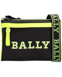 Bally ナイロン クロスボディバッグ - イエロー