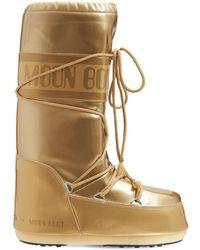 """Moon Boot Stiefel """"icon Vinile Metallic s"""" - Mettallic"""