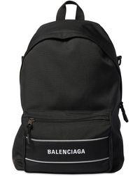 Balenciaga Рюкзак Из Нейлона - Черный