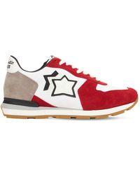 Atlantic Stars Antares Running Trainers - Red