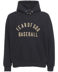 Fear Of God Baseball スウェットフーディー - ブラック