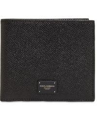 Dolce & Gabbana Кожаный Бумажник - Черный