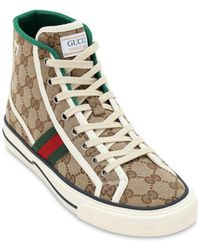 Gucci Gucci Tennis 1977 High-top Trainers - Multicolour