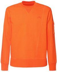 A_COLD_WALL* コットンジャージースウェットシャツ - オレンジ