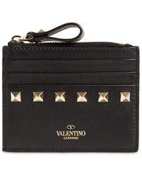 Valentino Garavani Valentino Garavani Zipped Card Holder - Red