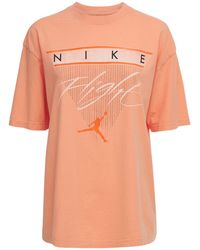 "Nike T-shirt ""jordan Gfx"" - Orange"