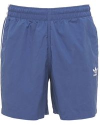adidas Originals Primegreen 3-stripe 水着 - ブルー