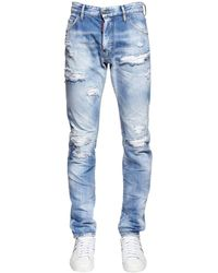 DSquared² 16.5cm Jeans Aus Denim - Blau