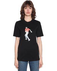 """Kirin T-shirt Aus Jersey """"dancer"""" - Schwarz"""
