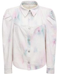 Étoile Isabel Marant Куртка Из Деним Leona - Многоцветный