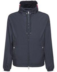 """Moncler Jacke Aus Nylon """"grimpeurs"""" - Blau"""