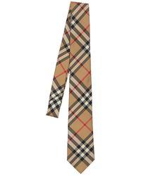Burberry Шелковый Галстук 70мм - Естественный