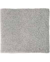 Maison Margiela Wool Collar - Gray
