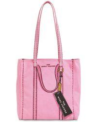 Marc Jacobs Сумка-тоут The Trompe L'oeil Tag - Розовый