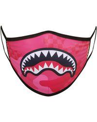 "Sprayground Mascarilla ""Pink Anime Camo"" Estampada - Rosa"