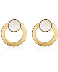 Vita Fede - Moneta Open Mother Of Pearl Earrings - Lyst