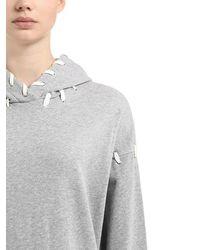 Jonathan Simkhai - オーバーサイズ フード付きスウェットシャツ - Lyst