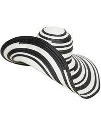 Missoni Wide Brim Viscose Hat - Black
