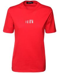 DSquared² - Icon コットンジャージーtシャツ - Lyst